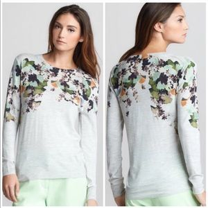 3.1 Phillip Lim Wool Floral Gray Sweater 573